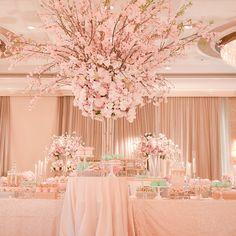 Blush perfection! Event Design by Sunny Ravanbach, White Lilac, Inc. #whitelilacinc