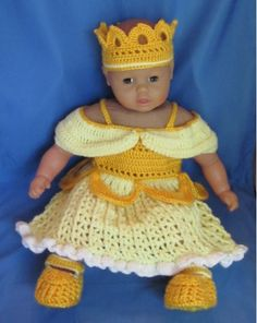 Crochet Disney's Belle from Beauty and the Beast by MagicalStrings, $75.00