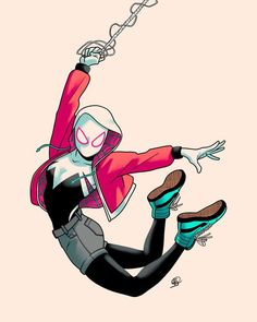 Marvel's Spider-Man into the Spider-Verse: Spider-Gwen Marvel's S. Marvel's Spider-Man into the Spider-Verse: Spider-Gwen Marvel's Spider-Man into the Spider-Verse: Spider-Gwen Marvel Girls, Marvel Art, Marvel Dc Comics, Ms Marvel, Captain Marvel, Spider Girl, All Spiderman, Amazing Spiderman, Gwen Stacy