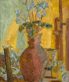 Duncan Grant    Still Life with Cyclamen    1914
