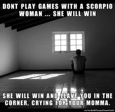 #ScorpioFemmeFatale: