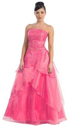 Ball Gown Elegant Formal Prom A Line Dress #460 (16, Fuchsia) US Fairytailes,http://www.amazon.com/dp/B003K7VG8U/ref=cm_sw_r_pi_dp_4Jnrrb02FY9ZA522 $110