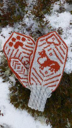 Ravelry: The sheltiemitten (sheltievotten) pattern by Birgitte Reiten #Knit