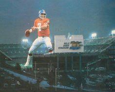 John Elway and The Original Mile High Stadium.