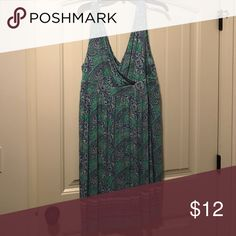 Women's old navy summer dress Rayon material. Lightweight, very comfy. Excellent condition Old Navy Dresses