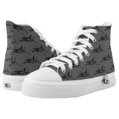 F-14 Tomcat High Top Shoes High Tops - diy cyo personalize design idea new special custom