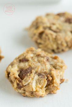 Clean Eating Cookies: Diese leckeren Kekse kommen ohne Zucker aus, sind eifrei, vegan, und auch für kleine Kinder toll) | http://www.backenmachtgluecklich.de