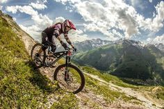 Spectacular Enduro World Series round @ Valloire @annekebeerten took her first podium of the season! #alpinestarsmtb