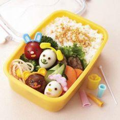 SAKURA PICKS  Onigiri mold Sauce Case Aluminum Foil For Lunch Box Set Of 6