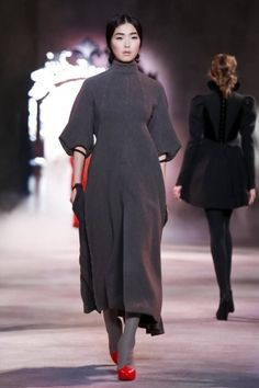 Ulyana Sergeenko Fall Winter Couture 2013 Paris
