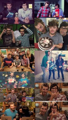 Rhetts face in all of these is so funny! I especially love the cake one!