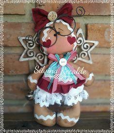 Christmas Clay, Christmas Animals, Christmas Projects, Christmas Themes, Holiday Crafts, Christmas Decorations, Christmas Ornaments, Gingerbread Ornaments, Gingerbread Man