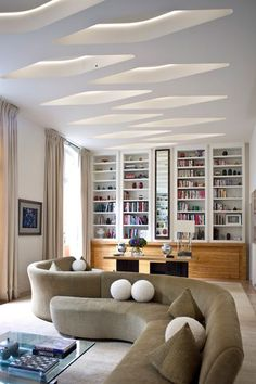 grand salon avec canap en arc de cercle loft ideas pinterest grands salons cercles et. Black Bedroom Furniture Sets. Home Design Ideas