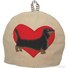 Poppy Treffry Dachshund Dog Tea Cosy