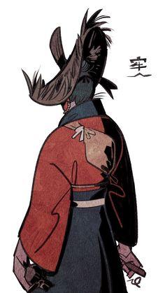 Manga Anime, Character Art, Character Design, Samurai Artwork, Ghost Of Tsushima, Scarlet Witch, Warriors, Ninja, Avatar