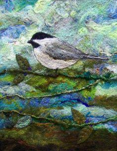 #644 Chickadee Too  by Deebs Fiber Arts, via Flickr