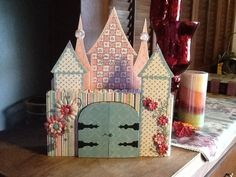 Hey, I found this really awesome Etsy listing at https://www.etsy.com/listing/177447508/castle-scrapbook-album