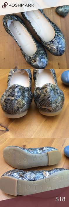Boutique 9 Flats Worn on store like new size 7med beautiful shoes comfortable Boutique 9 Shoes Flats & Loafers