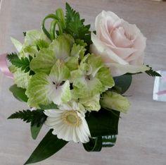 Hortensia, rose, germini, lisianthus... pastel