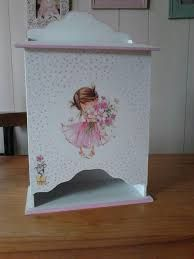 Resultado de imagen para BEBES MDF Tole Painting, Painting On Wood, Kit Bebe, Decoupage Box, Girl Nursery, Toy Chest, Pink Blue, Baby Boy, Baby Shower