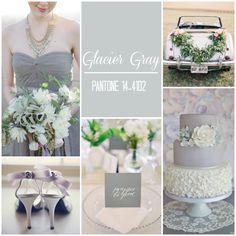 Pantone Colour Report: Spring 2015   Weddings [Part 2] 2015 Wedding Trends, Wedding 2015, Fall Wedding, Pantone 2015, Pantone Color, Gray Weddings, Unique Weddings, Spring Weddings, Wedding Themes