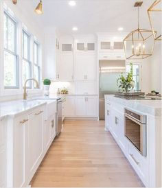 + kitchen room decoration and how to bring your own kitchen interior desig. - + kitchen room decoration and how to bring your own kitchen interior design ideas to be proud - Home Decor Kitchen, Interior Design Kitchen, Home Kitchens, White Kitchen Designs, Kitchen Ideas, White House Interior, White Interior Design, White Kitchen Interior, Remodeled Kitchens
