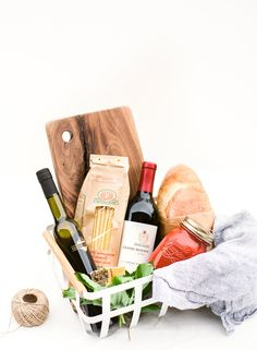 These 4 simple steps to creating your own neighborhood gift basket will make you the favorite on the block in no time. #DIY