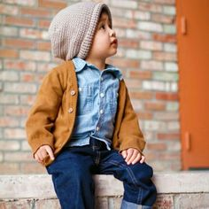 Baby hipster boy clothes idea #9! :-D