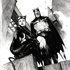 best of batcat on Twitter - Batman Art - Ideas of Batman Art #batman #art #batmanart - Comic Book Artists, Comic Book Characters, Comic Artist, Comic Character, Comic Books Art, Catwoman Cosplay, Batman And Catwoman, Batman Robin, Dc Comics Art