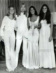 Singer/Actress Cher and rock musician Greg Allman's Wedding Picture.  They married June 30, 1975 (3 days after finalizing her divorce from Sonny) ... 9 days later she said the marriage was a mistake, citing his heroin and liquor problems, but they reconciled and remained married until 1979.