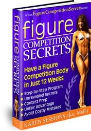 figure competition article - great info to keep in mind - meal planning, training, peak week tips