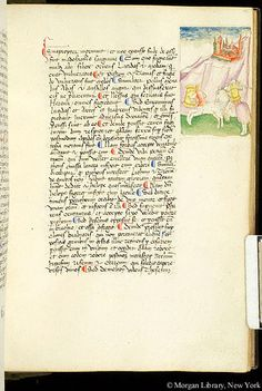 Commentary, MS M.938 fol. 121r - Images from Medieval and Renaissance Manuscripts - The Morgan Library & Museum