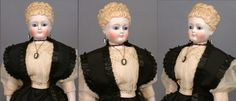 """One Of A Kind 16"""" Swivel Head Fashion Lady By Simon & Halbig With from kathylibratysantiques on Ruby Lane"""