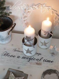 Ich finde es immer toll, was man aus   scheinbar Nutzlosem noch alles zaubern kann.         Da der 1. Advent vor der Tür steht,   habe ic...