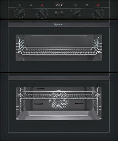 NEFF U17M52S3GB Built Under Electric Double Oven Neff U17M52S3GB Black Built Under Electric Double Oven Neff U17M52S3GB Black Built Under Electric Double Oven FeaturesTop and main oven features Features Silver display EasyClock QuickConnect shelf su http://www.MightGet.com/february-2017-2/neff-u17m52s3gb-built-under-electric-double-oven.asp