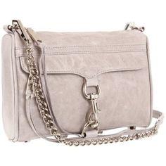 Rebecca Minkoff Mini Mac  Clutch,Pale Grey,One Size $195.00