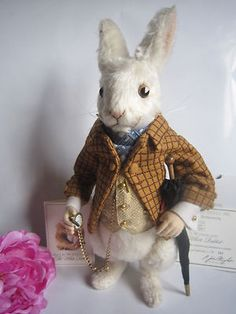 R John Wright The White Rabbit from Alice in Wonderland
