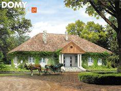 Tercja 2 dom zaprojektowany w stylu reprezentacyjnego dworku - Jesteśmy AUTOREM - DOMY w Stylu This Old House, Home Fashion, Victorian Fashion, Old Houses, Gazebo, Outdoor Structures, Cabin, House Design, House Styles