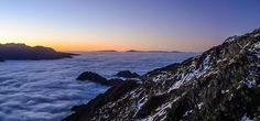Cloud Inversion in Mount Cook NP