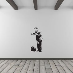 Banksy Doctor Health Check Vinyl Wall Art Decal