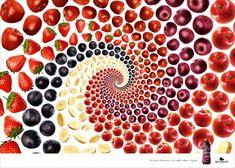 「あなたもきっと、スムージーが飲みたくなる」視覚に訴えかける広告 | AdGang