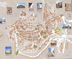Montepulciano Map - montepulciano it • mappery