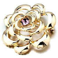 Breathtaking Rose Floral Broocches And Pins Floral Brooch Pinterest