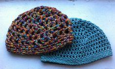 Ravelry: Crochet Mesh Hat pattern by Dana Freed