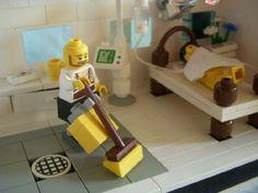 Matt David goes to the hospital : A LEGO® creation by Jonathan S. (aka Brick Star) : MOCpages.com