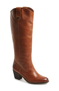 Free shipping and returns on Vince Camuto 'Kolton' Boot (Women) (Regular & Wide Calf) at Nordstrom.com. Pristine topstitching outlines a tall Western boot styled with a curvy topline, an almond toe and a sculptural block heel.