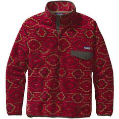 awesome pattern Synchilla Snap-T (Men's) #Patagonia #RockCreek