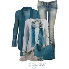 Teal Tuesday by in-my-closet on Polyvore