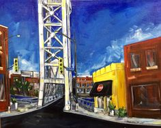 Welland Reborn-2015-acrylic on canvas Private collection