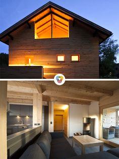 Luxus pur genießen Urlauber in der Berghütte Waldarbeiterhaus im Bayerischen Wald.